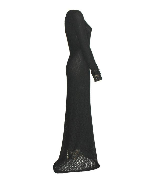 A stunning vintage evening gown by Dolce & Gabbana