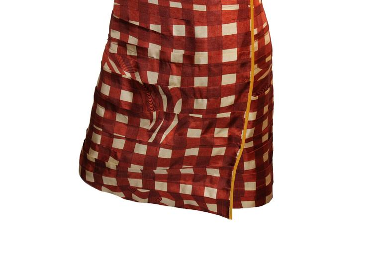 Stunning Prada Printed Pleated Silk Dress 3