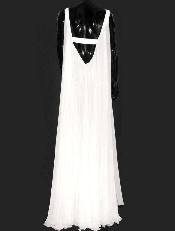 Stunning Versace Silk Evening Dress Wedding Gown 3