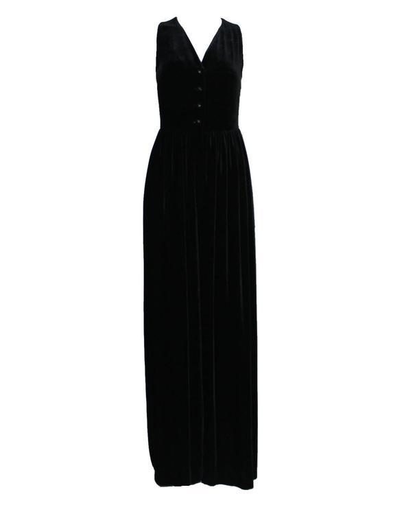 Fabulous Black Chanel Velvet Jumpsuit as seen on Celine Dion  3