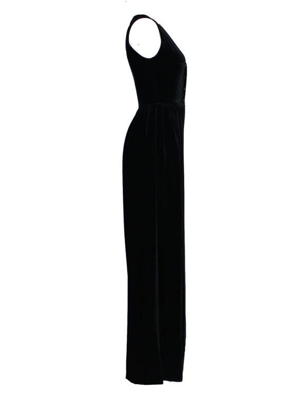 Fabulous Black Chanel Velvet Jumpsuit as seen on Celine Dion  2