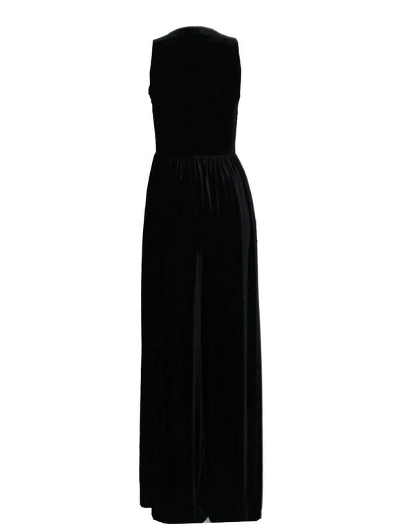 Fabulous Black Chanel Velvet Jumpsuit as seen on Celine Dion  4