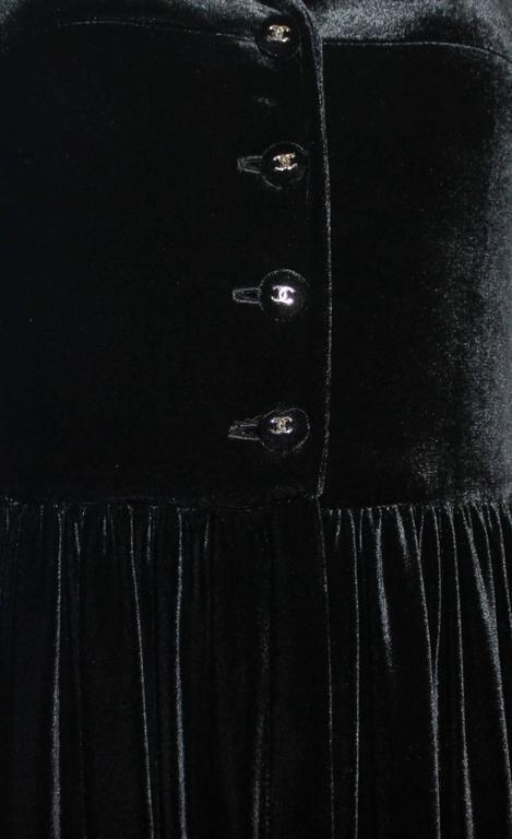 Fabulous Black Chanel Velvet Jumpsuit as seen on Celine Dion  5