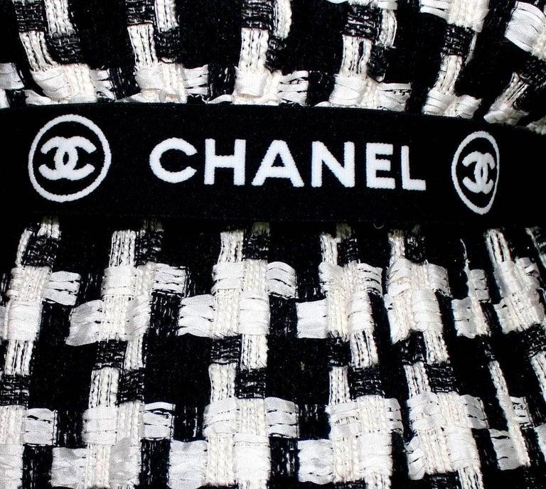 Chanel CC Signature Logo Lesage Fantasy Jacket Tweed Skirt / Dress Suit For Sale 1