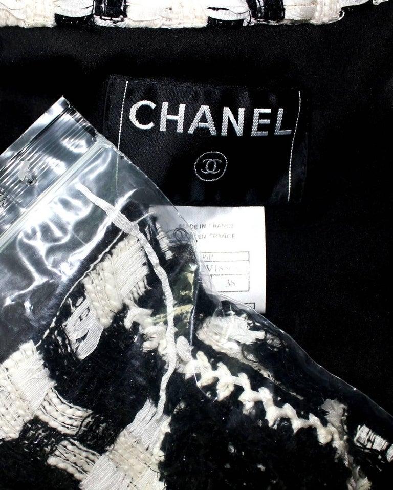 Chanel CC Signature Logo Lesage Fantasy Jacket Tweed Skirt / Dress Suit For Sale 2