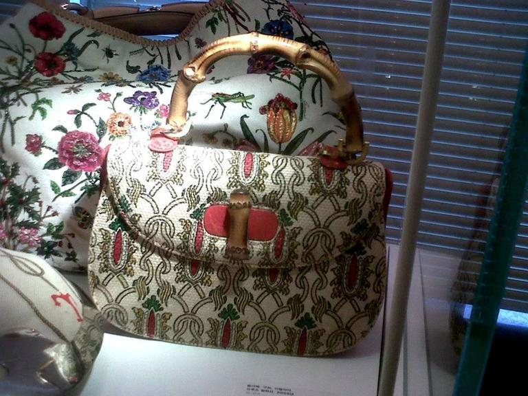 Gucci Tom Ford Limited Flora Beaded Embroidered Horsebit Bag - Museum Piece 8