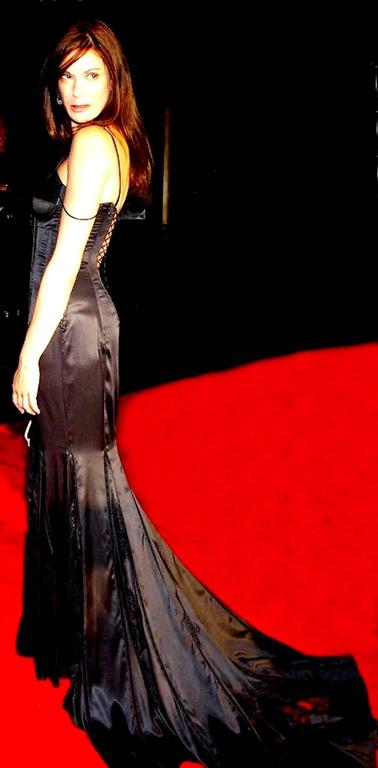 """Rare Dolce & Gabbana Lace Up """"Bond Girl"""" Evening Gown For Sale 4"""