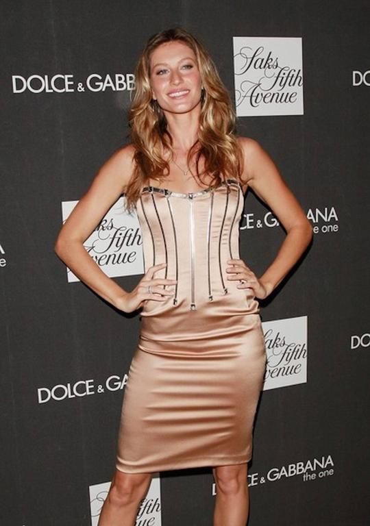 Dolce & Gabbana Silver Grey Stretch Silk Leather Dress For Sale 4