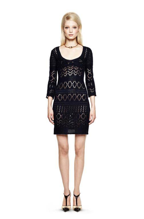 Gorgeous Emilio Pucci Crochet Knit Mini Dress In New never worn Condition For Sale In Switzerland, CH