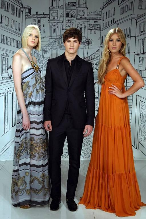 Blake's Stunning Gucci Plissee Evening Gown Dress For Sale 3