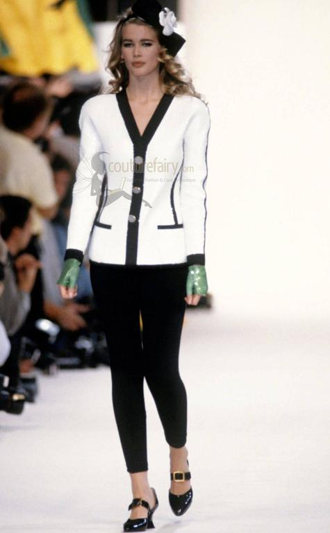 Rare Museum Piece 1990s Chanel Sequin Jacket shown at Met Museum 2005 Exhibition For Sale 2