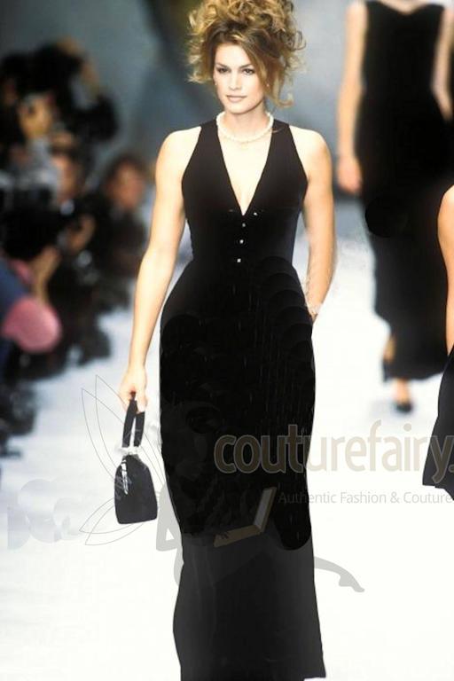 Fabulous Black Chanel Velvet Jumpsuit as seen on Celine Dion  8