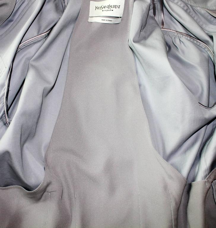Women's Yves Saint Laurent YSL by Tom Ford Taupe Skirt Suit Spring / Summer 2003 For Sale