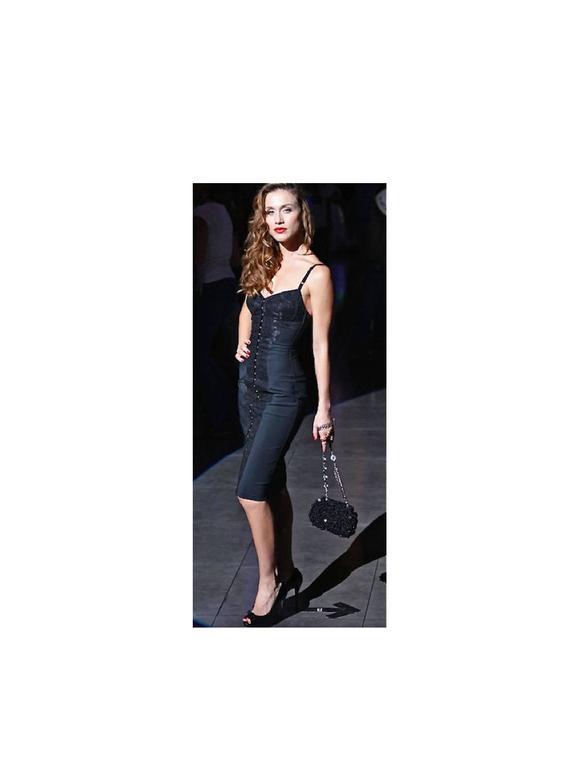 Stunning Dolce and Gabbana Bodycon Corset Lace Dress ...