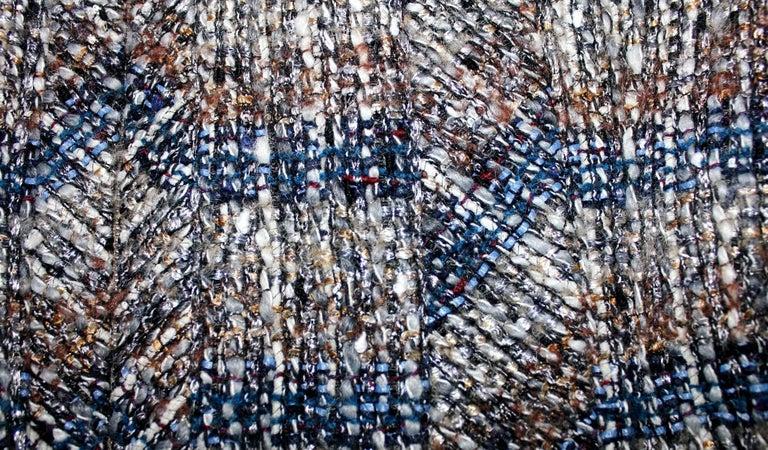 Chanel Metallic Multicolor Lesage Tweed Jacket Blazer In Good Condition For Sale In Switzerland, CH