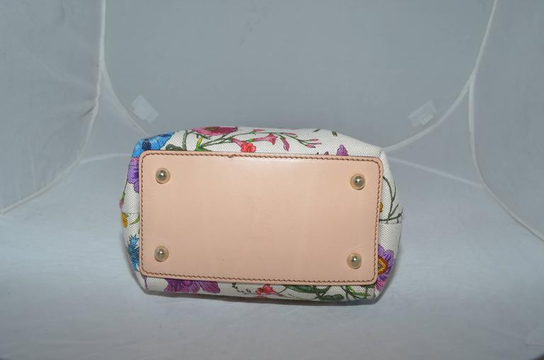 Gucci Vintage Blooms Bag with Bamboo Handle 3