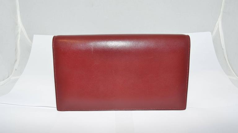 Hermes 1962 Box Calf Rogue 2 Way Clutch Bag with Strap 3