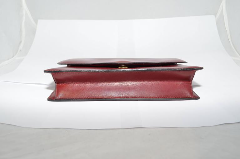 Hermes 1962 Box Calf Rogue 2 Way Clutch Bag with Strap 4