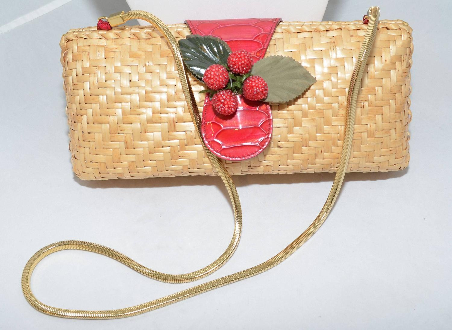 Buy handbags online at Macy's and get FREE SHIPPING with $99 purchase! Shop great selection of Macy's designer handbag brands and popular styles. Macy's Presents: The Edit- A curated mix of fashion and inspiration Check It Out. Betsey Johnson Straw Clutch.