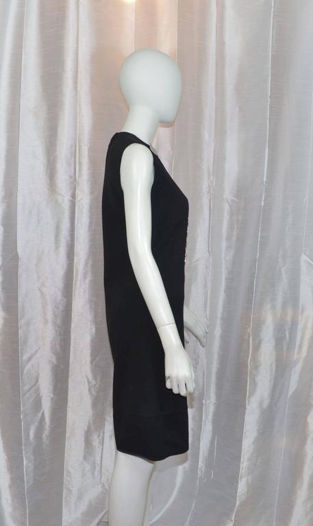 Pierre Cardin Vintage 1968 Haute Couture Metal Bones Iconic Dress 2