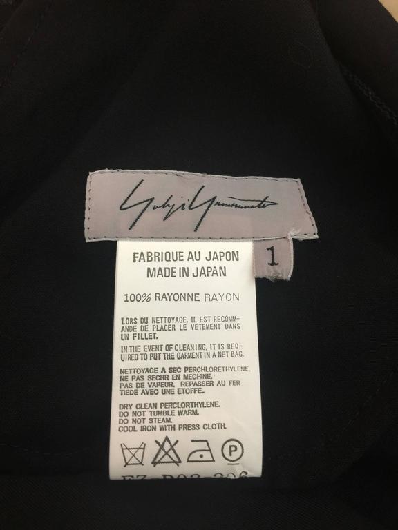 Rare Yohji Yamamoto Dress  For Sale 5