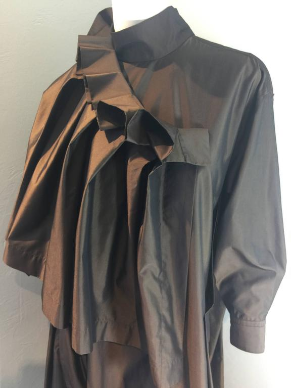 Issey Miyake Gown Late 1980's For Sale 3