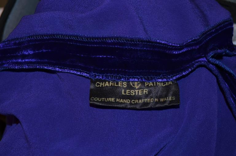 Charles and Patricia Lester Couture Gown For Sale 3