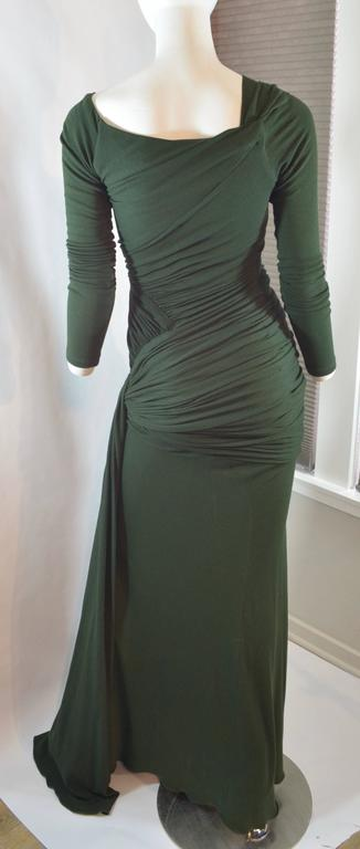 Donna Karan  Black Label Jersey Gown For Sale 1