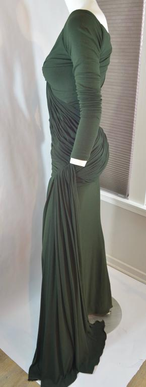 Donna Karan  Black Label Jersey Gown For Sale 2