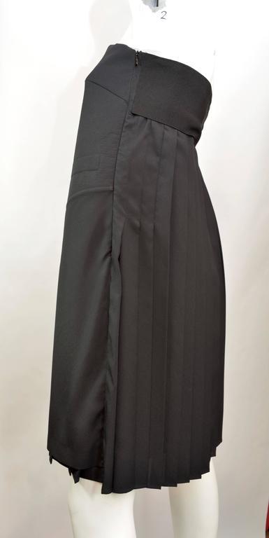 Black 2014 Maison Martin Margiela Cocktail Dress For Sale