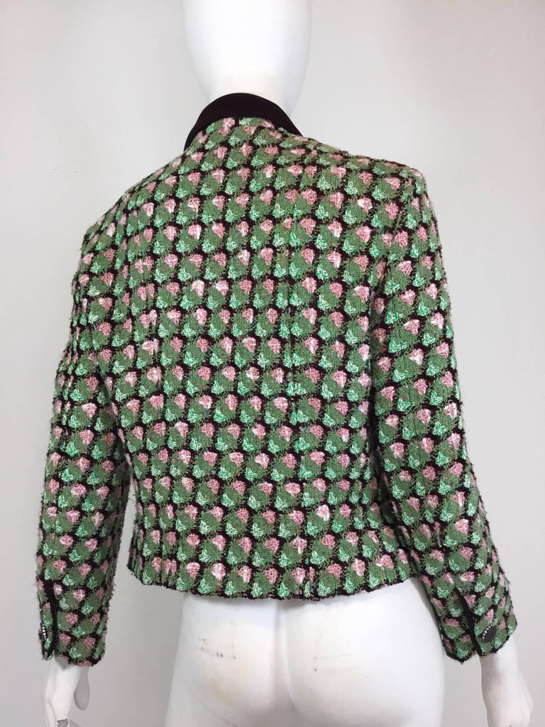 Chanel 02P Tweed Jacket  In Excellent Condition For Sale In Carmel by the Sea, CA