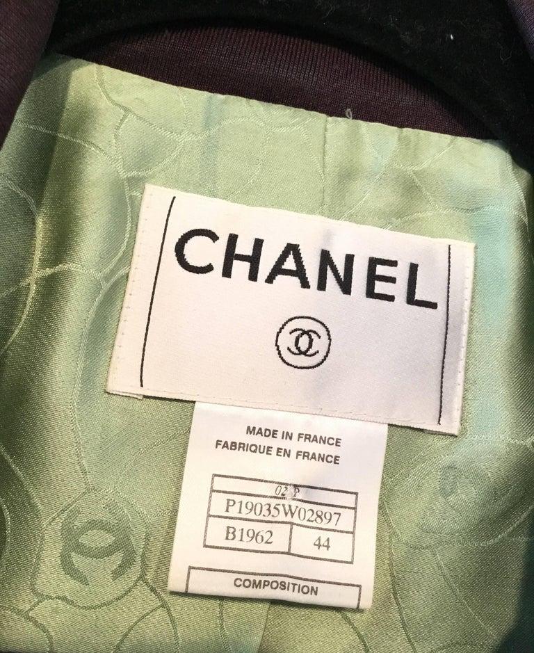 Women's Chanel 02P Tweed Jacket  For Sale