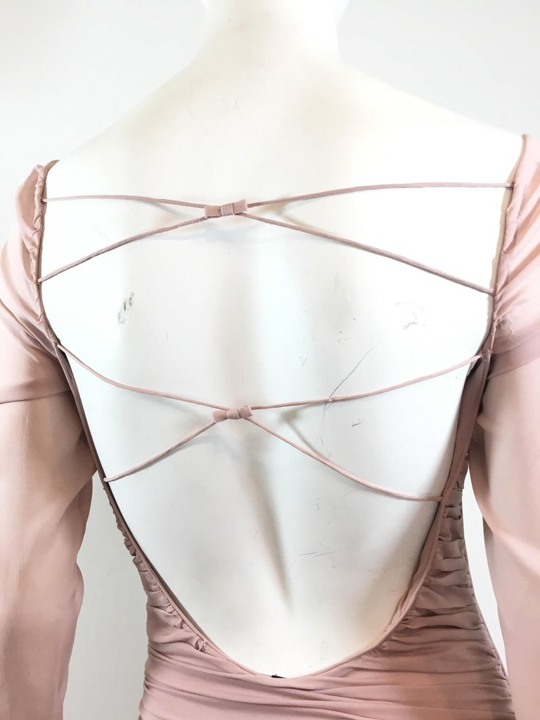 Tom Ford for Gucci Ruched Dress, 2003 Spring Runway For Sale 1