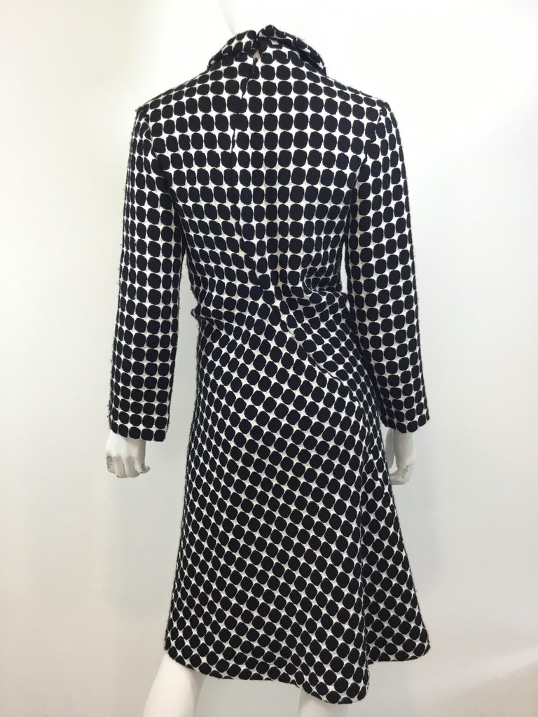 Junya Watanabe Comme des Garçons OP Art Coat Dress AD 2001 In Good Condition For Sale In Carmel by the Sea, CA