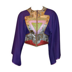 Kaisik Wong Wearable Art Kimono Jacket
