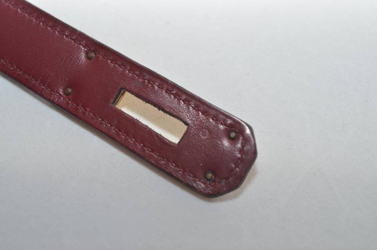 Hermes 1978 32cm Box Calf Kelly Handbag 4