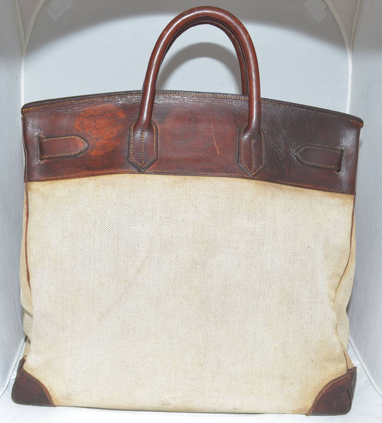 Hermes Vintage 1959 Haut a Courroie HAC Bag at 1stdibs