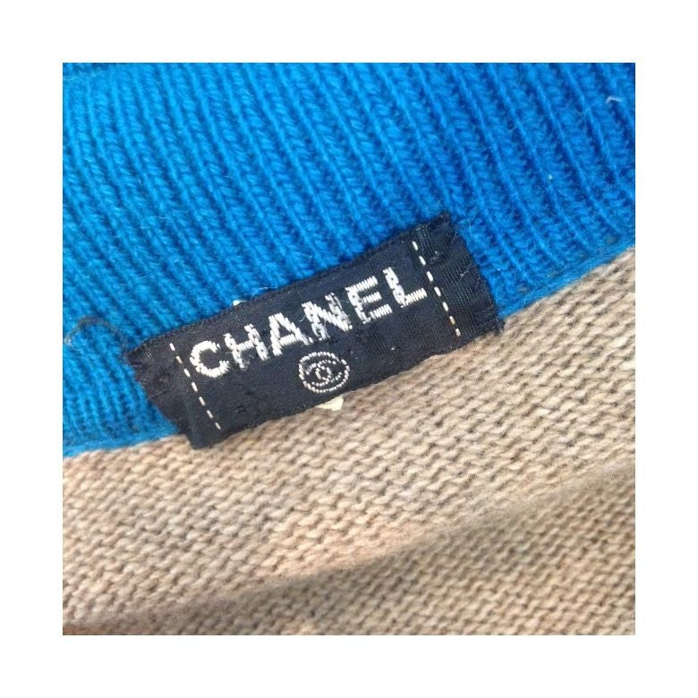 Chanel Cashmere Sweater Dress For Sale 1