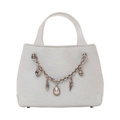 Barry Kieselstein-Cord Handbag with Removable Charm Bracelet