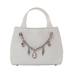 Barry Kieselstein-Cord Handbag with Removable Charm Bracelet