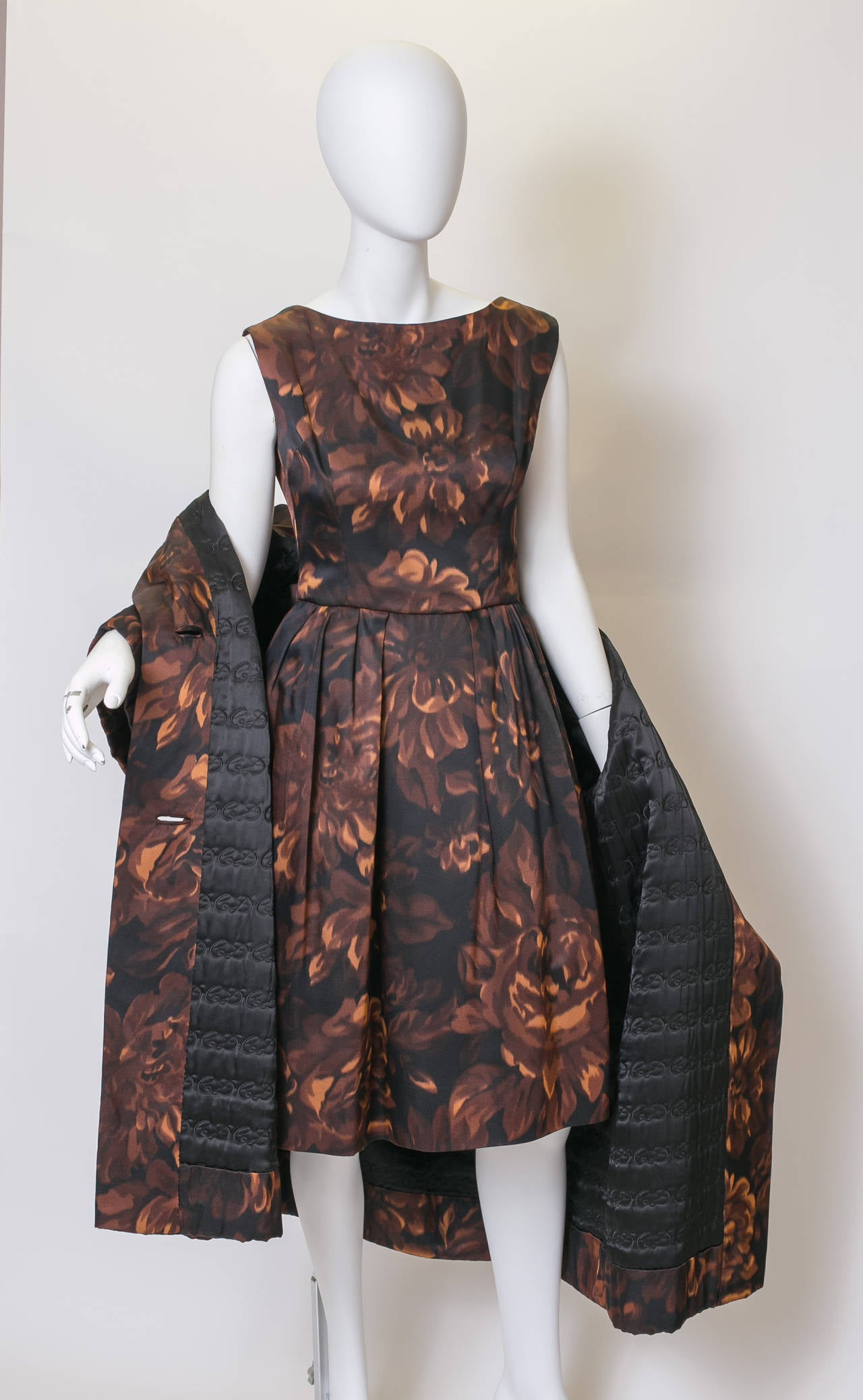 Christian Dior 1950s Dress And Coat Numbered Piece At 1stdibs