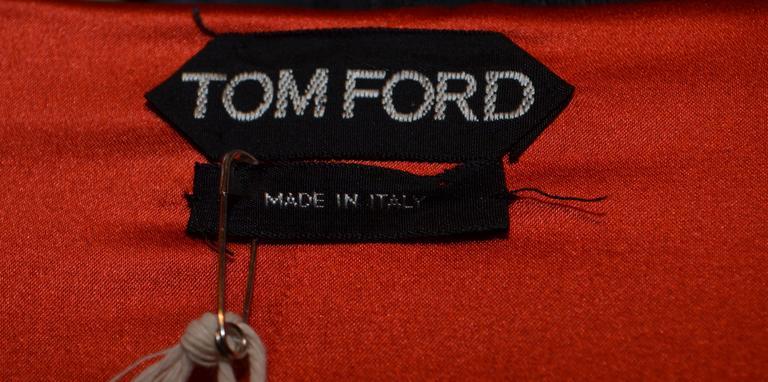 Women's Tom Ford Iconic Zipper Long Sleeve Dress For Sale