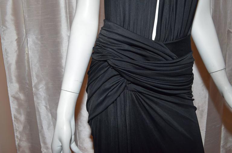 Versace Vintage Silk Jersey Gown 4