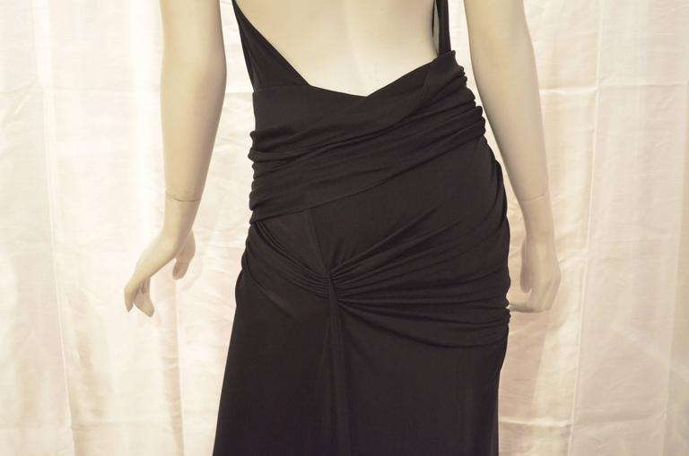 Versace Vintage Silk Jersey Gown 3