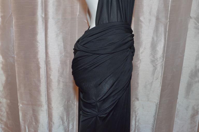 Versace Vintage Silk Jersey Gown 7