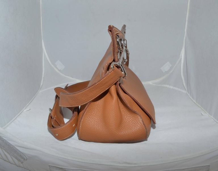 Hermès Gold Jypsiere 34cm Souple Leather Crossbody Bag 2