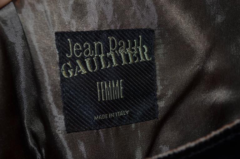 Jean Paul Gaultier Autumn 1997 Print Top & Pants 6