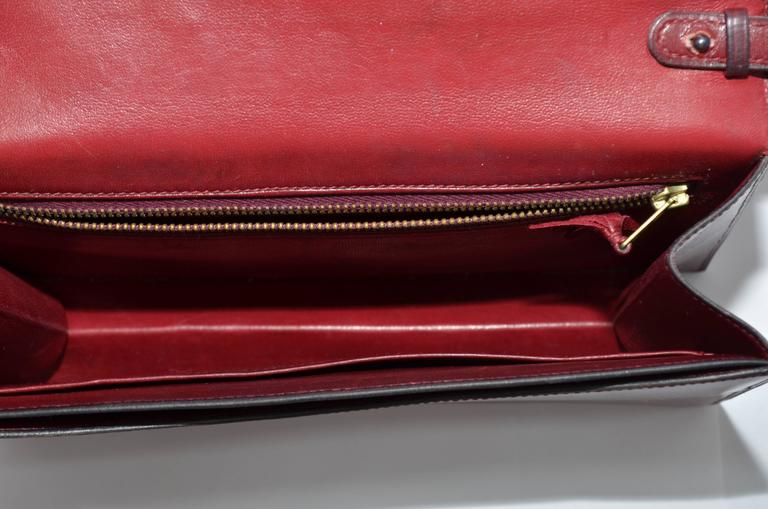 Hermes 1962 Box Calf Rogue 2 Way Clutch Bag with Strap 9