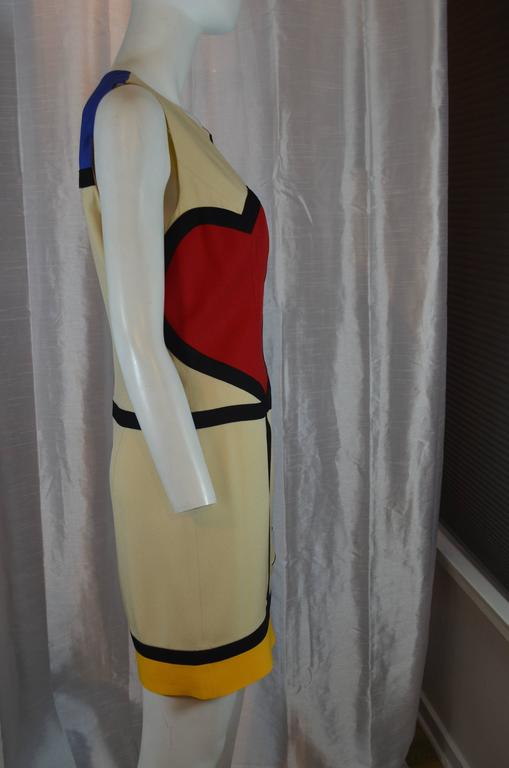 Moschino Art is Love Mondrian Dress 2