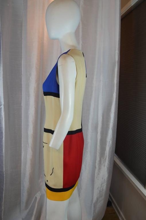 Moschino Art is Love Mondrian Dress 3